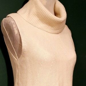 White House Black Market Sleeveless Cowl Neck - S